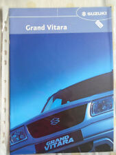 Suzuki Grand Vitara range brochure Feb 2005