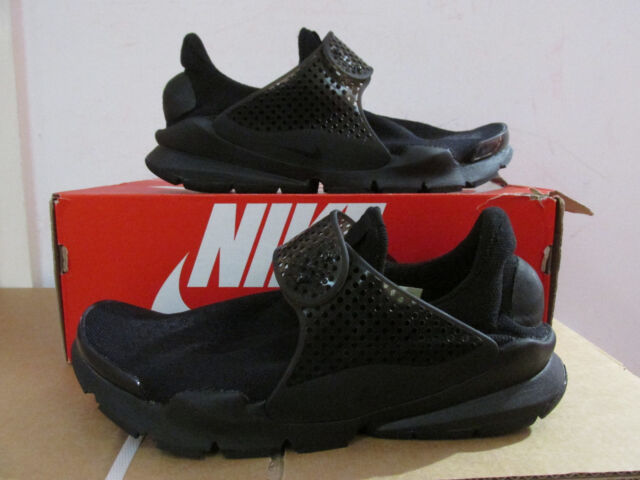 official photos 6fad3 d67f1 Nike Sock Dart Triple Black Mens Running Shoes SNEAKERS Slip-on NSW 819686- 001 6