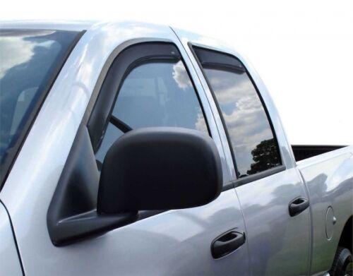 DODGE RAM 2500 MEGA CAB 2006-2008 WINDOW VENT VISORS In-Channel 194845 For