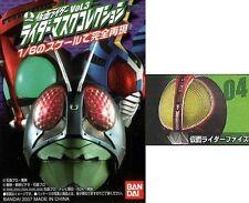 Bandai Kamen Rider Masked Mask Head Collection Part 3 Faiz Orange Bulb Stand