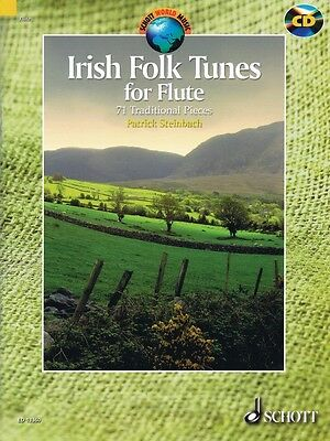 Musical Instruments & Gear Wind & Woodwinds Energetic Irish Folk Tunes For Flute New Schott 049018457 Fashionable Patterns