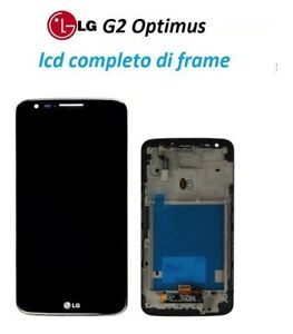 LCD-Display-Touch-Screen-Frame-LG-Optimus-G2-D802-NERO-NUOVO-ORIGNALE