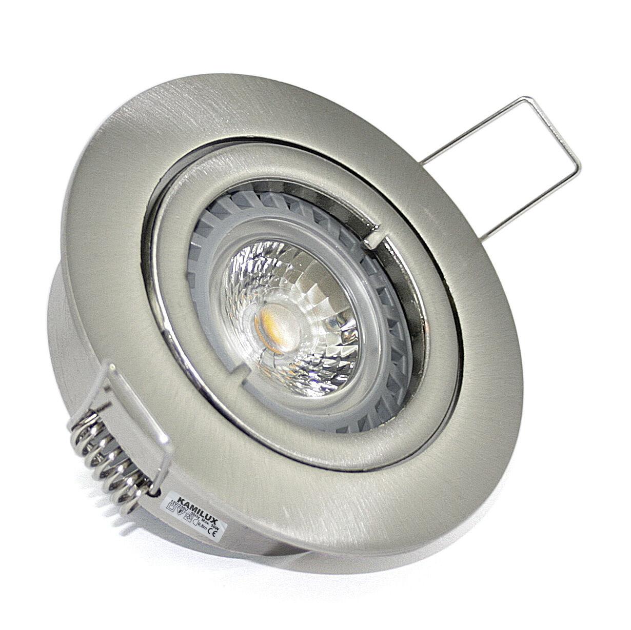 Bad Bad Bad Downlights 230V Hochvolt Kamilux  GU10 Fassung LED od Halogen ohne LM | Helle Farben  | Deutsche Outlets  | Modern  1f938e