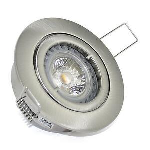 Kamilux Einbaustrahler Spot Bajo 230V Hochvolt Downlight ohne Leuchtmittel GU10
