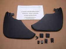 Jaguar XK8 Rear Mud Flap Splash Guard Set 1997 - 2004  C2S4500 REAR