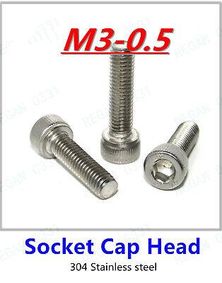 100pcs 304 Stainless Hex Socket Countersunk Screw M3 M5 M6 M5, 20mm