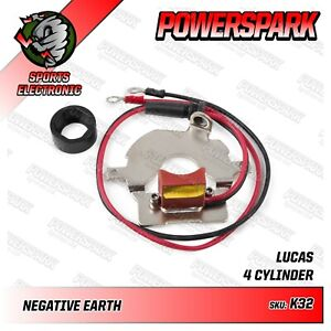 D2A-Lucas-Distributor-electronic-ignition-conversion-Powerspark-Neg-Earth-100e