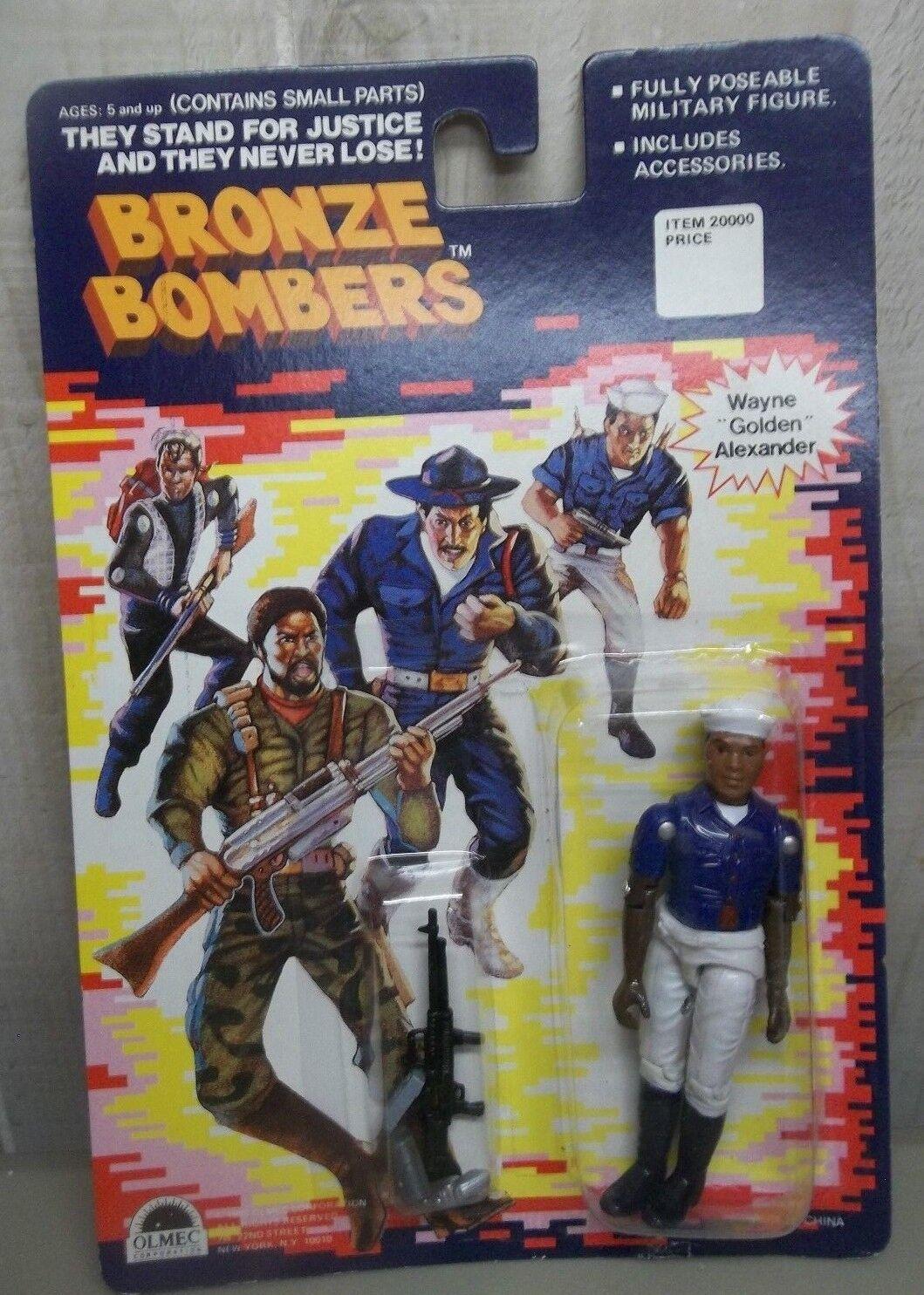 Bronze bomber wayne Goldene alexander olmeken 1988 afro - amerikaner - auf der karte)