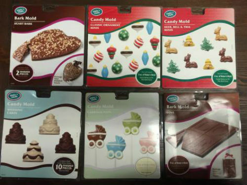 Wholesale Lot of 100 Make 'n Mold Chocolate Candy Holiday Molds Halloween & More