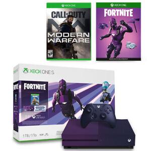 Xbox One S 1TB Fortnite Battle Royale Bundle + Call of Duty: Modern Warfare