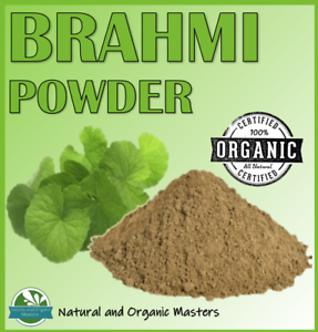 Certified-Organic-BRAHMI-POWDER-Bacopa-Leaf-Powder-Premium-Quality