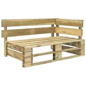Pleasing Shoptagr Vida Xl Garden Pallet Corner Bench Fsc Wood Green Machost Co Dining Chair Design Ideas Machostcouk