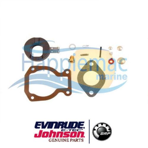 Johnson Evinrude OEM 4 4.5 6 7.5 8 9.9 15hp Carburador Kit 0398453 0386698