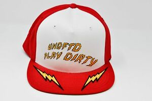 ecb03ca1131 Image is loading UNDEFEATED-X-STARTER-Play-Dirty-Lightning-Bolts-Snapback-