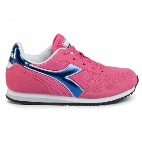 Scarpe donna diadora Simple run rosa 50152 GS sneakers sportive nuovo camoscio