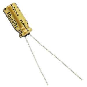M 20 Nichicon 50V 10UF BT Audio AMP Capacitor 125C