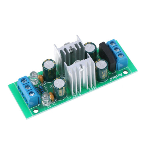 LM7915 ±15V dual voltage regulator rectifier bridge power supply module LM7815