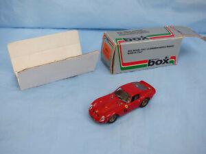 Box-Model-Italy-1-43-Red-Ferrari-250-GTO-62-Detailed-Diecast-Sports-Car-Toy-Box