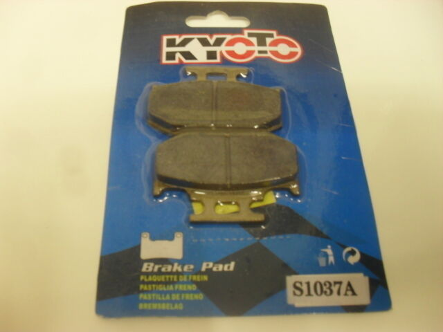 Brake Disc Pads Rear Kyoto For Kawasaki KDX 125 B1 1990