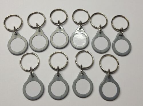 FREE P/&P Coloured Keyrings x 10