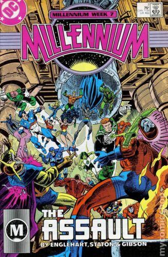 Millennium #7 FN 1987 Stock Image