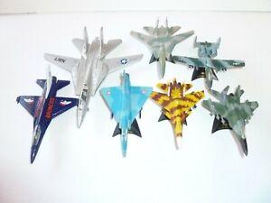 Maisto-Die-Cast-aviones-Lote-De-7-aviones-jets-aviones-Fighter-Jet-militar