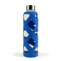 Aquasana 550 Ml Premium Borosilicate Glass Bottle With Silicone Sleeve