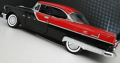 1950s Pontiac Rare Vintage Sport Car 1 24 Scale Carousel Red Metal Model 18
