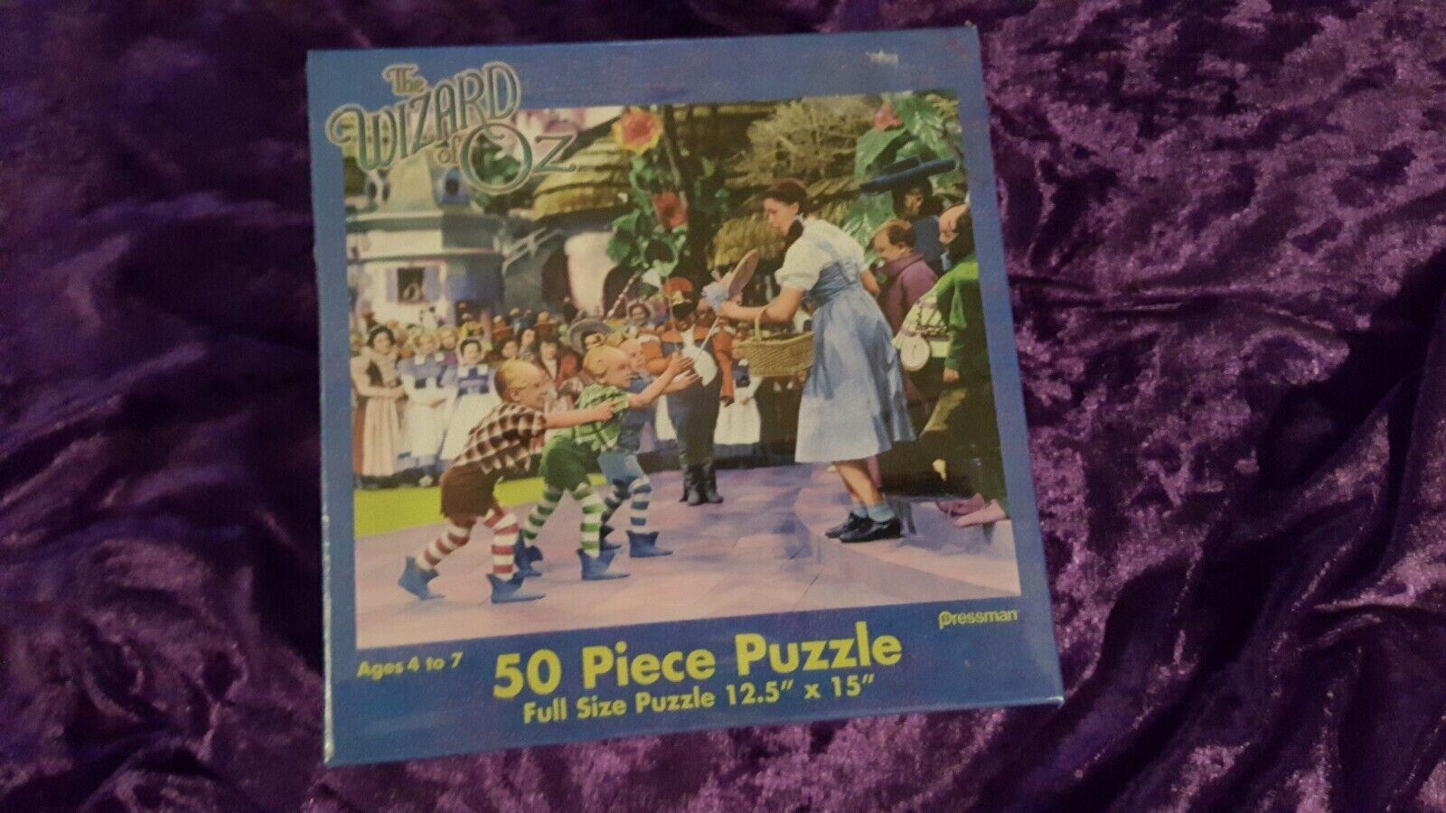 Der zauberer von oz 50 stck puzzle von pressman jigsaw - dGoldthy und die knirpse