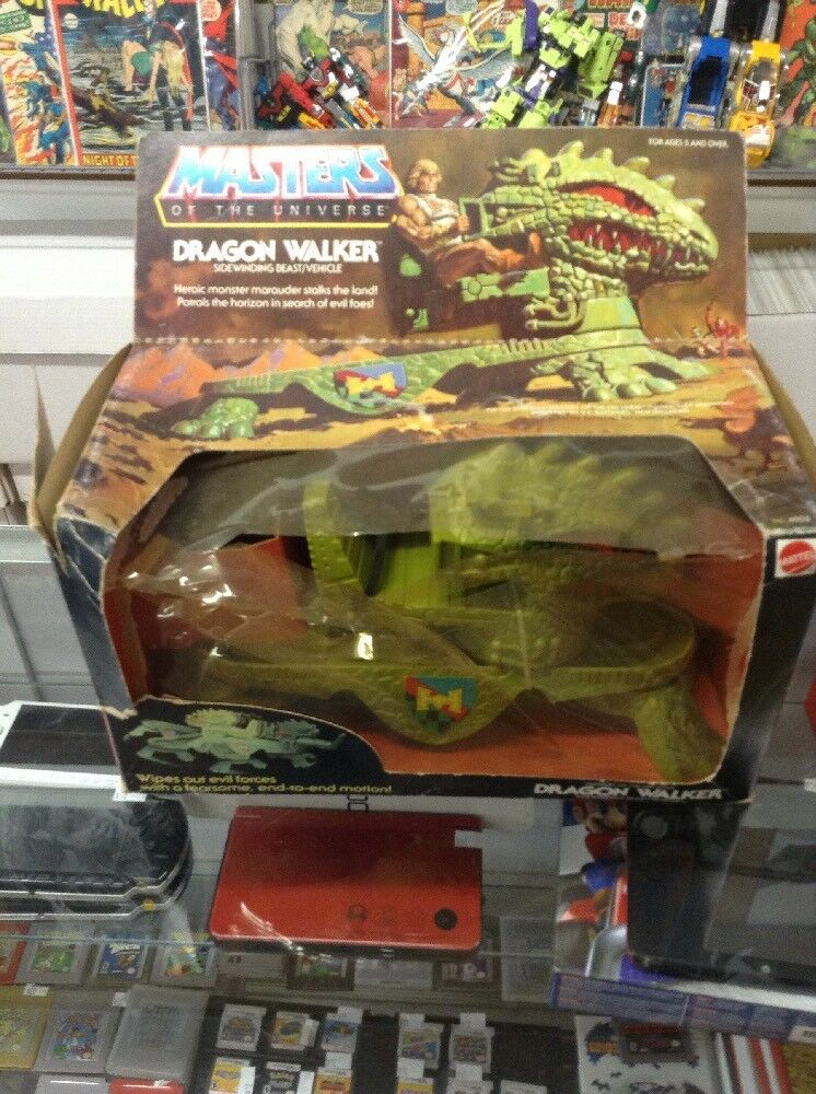 1983 Mattel Masters of the Universe Dragon Walker See The Pics