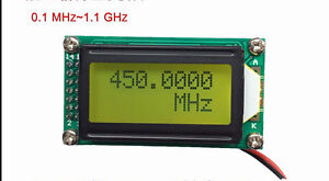 New 1MHz ~ 1 2GHz High precision frequency meter frequency measuring
