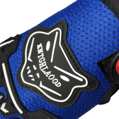 Kids Child Bike Bicycle Cycle Full Finger Gloves Boy Girls Sports MTB BMX Racing