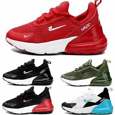 Youth Kids Boys Girls Mesh Sports Running Shoes Lightweight School Trainers