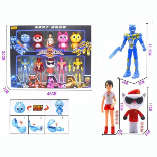 MiniForce Bolt Max Semi Lucy Action Figure Mini Force Toy Kids Christmas Gifts