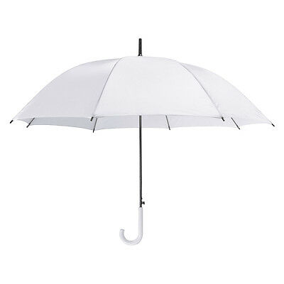 Ladies Heart Shape Windproof Umbrella in Orange with Matching Crook Hook Handle