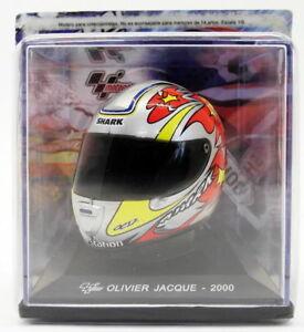 ALTAYA échelle 1/5 modèle GC047 Casque-MotoGP OLIVIER JACQUE 2000