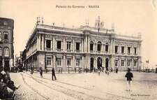 Bahia Brazil Palacio do Governo Exterior View Antique Postcard J63796