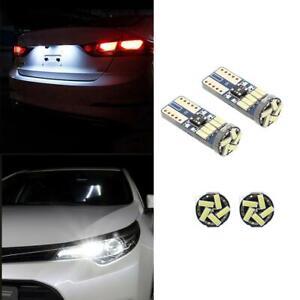 VODOOL-2ST-T10-4014-15SMD-LED-Auto-Breite-Lichter-Nummernschild-Lampen-fuer