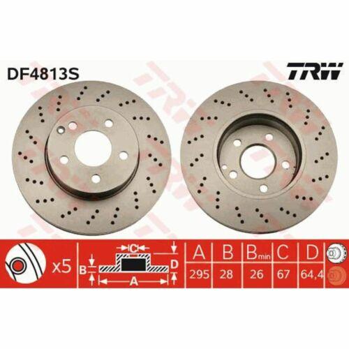 Disque de frein 1 Unités TRW df4813s