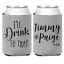 Personalized Wedding Koozies I/'ll Drink to That Can Coolers