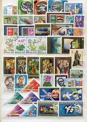 Aus 1973-76 Gut Ausgebildete Lot / Sammlung Ungarn O 100% Garantie 40958