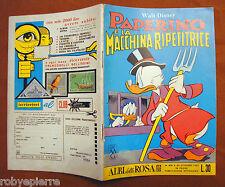 Albi della Rosa Walt Disney n 412 Paperino e la macchina ripetitrice 30 09 1962
