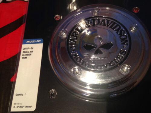 Harley NEW OEM Willie G Skull  Air Cleaner Cover Insert Trim FLH FXST FLST FXD