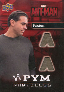 Marvel Ant-Man Memorabilia Costume Card PT-PV Bobby Cannavale as Paxton