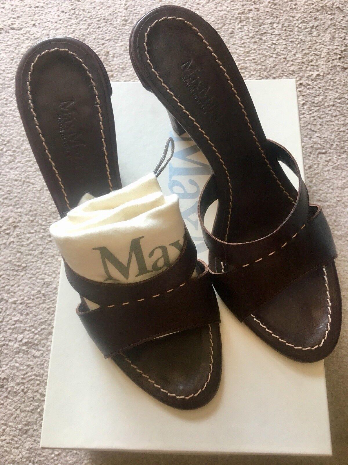 Stunning Max Mara Sandals Size 39 UK 6