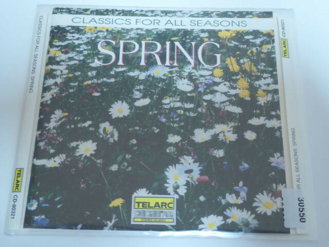 VARIOUS : Classics For All Seasons: Spring  > VG+ (CD)