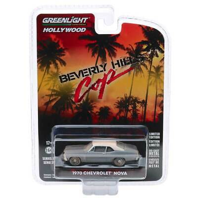 "Greenlight Hollywood Series 27 1970 Chevy Nova Beverly Hills Cop/"" /""Escala 1//64"