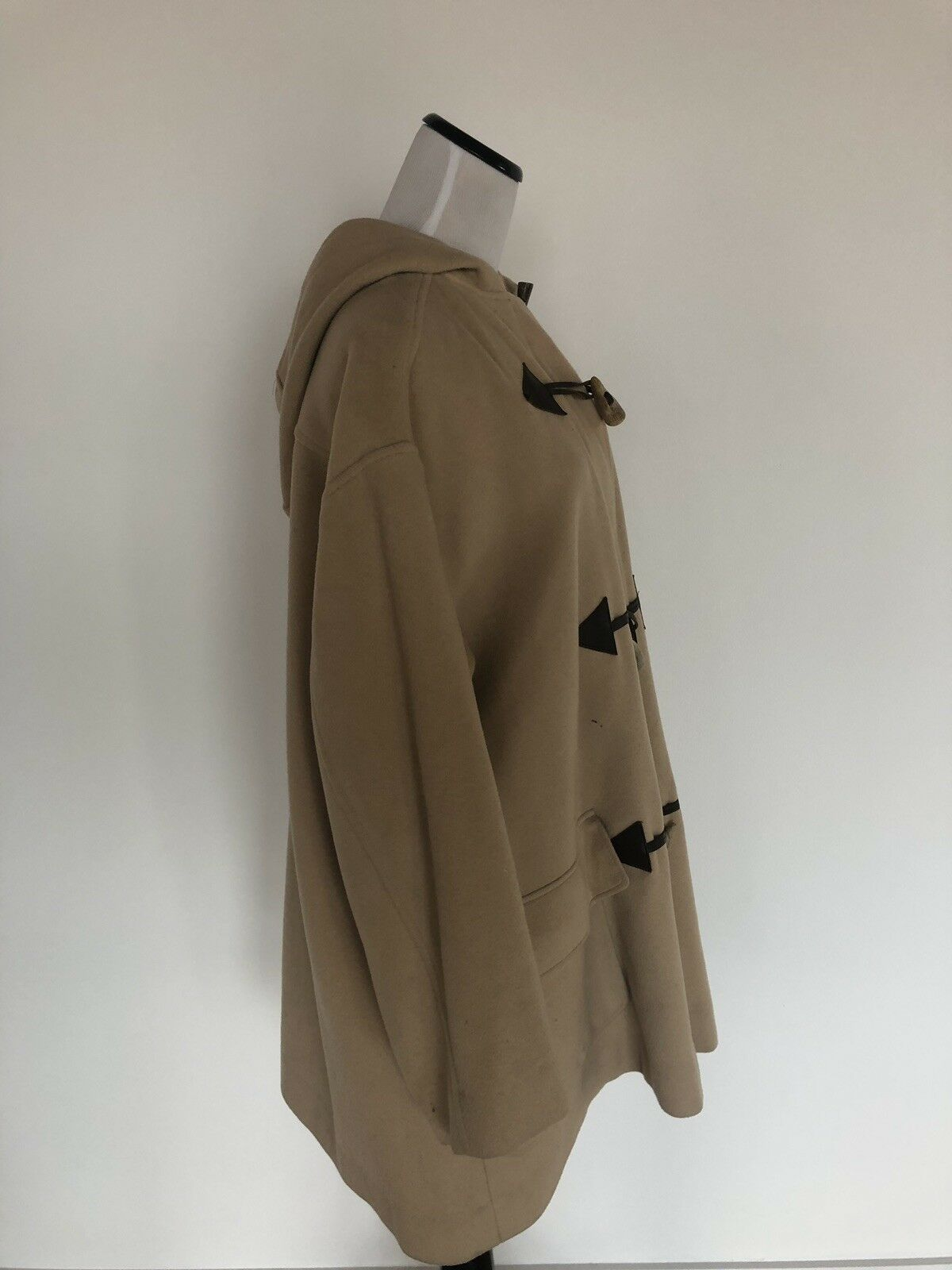Thomas Burberry Toggle Swing Jacket Hood Duffel C… - image 2