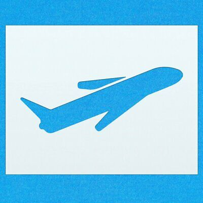 Plane Aviation Jet Aircraft Mylar Airbrush Painting Wall Art Crafts Stencil sevn