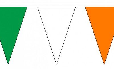 20 metre Long Bunting Wales Triangular Bunting 54 flags